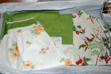 More aprons