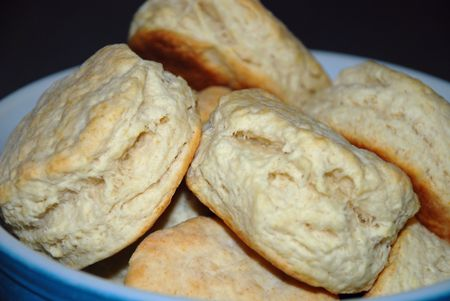 Cooked biscuits