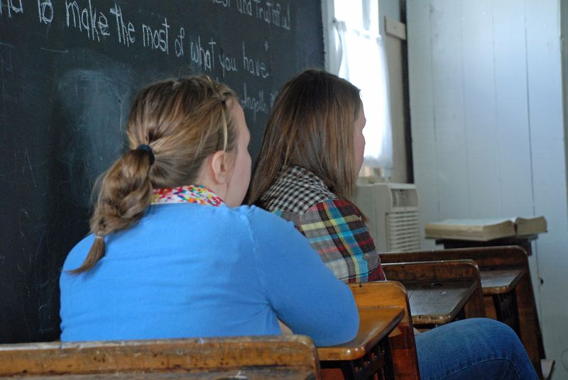 The older students