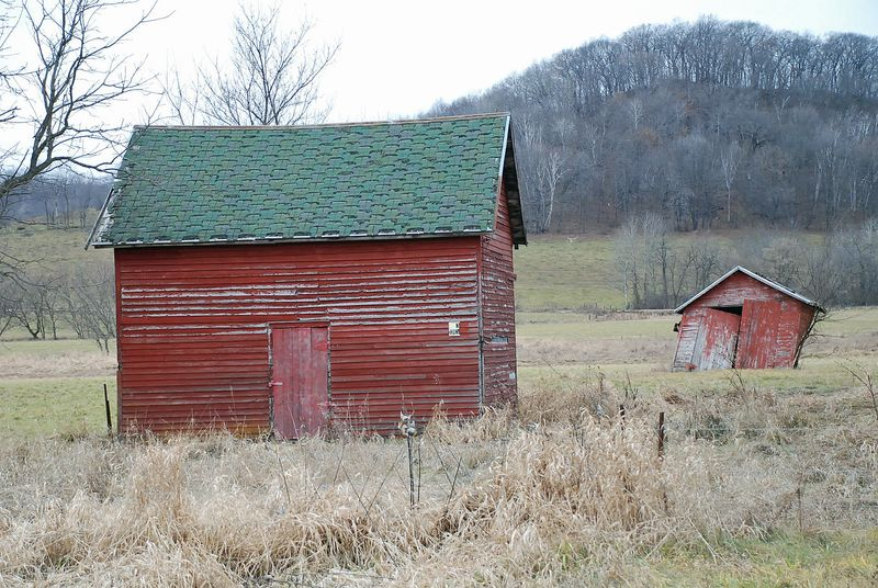 Barn and garage two