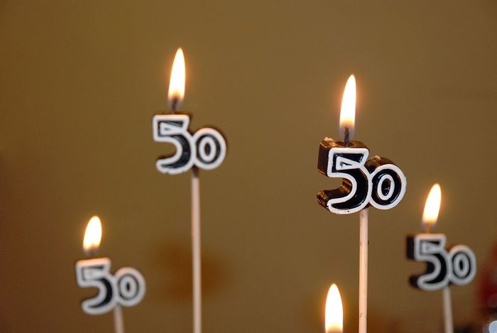 50 candles