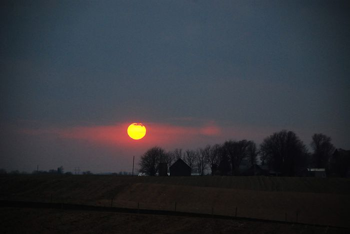 March sunset