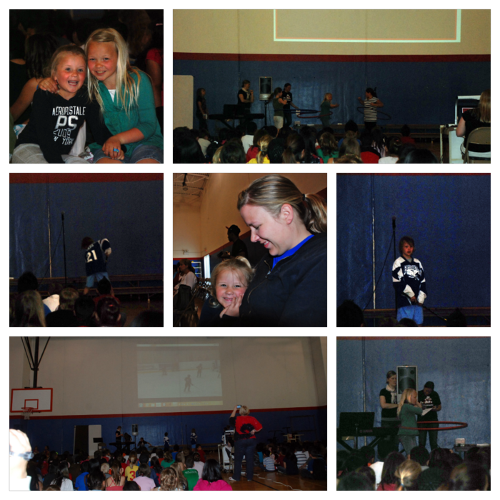 Talent show collage
