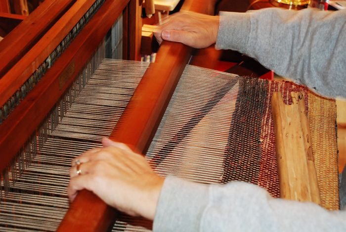 Beating the loom