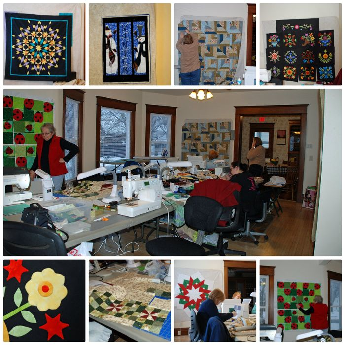 Quilt retreat