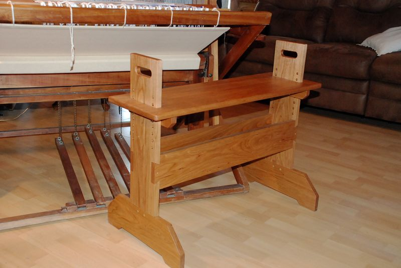 Weaving bench