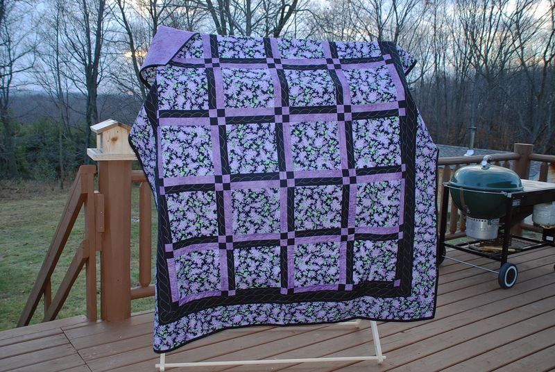 Quilt lilac