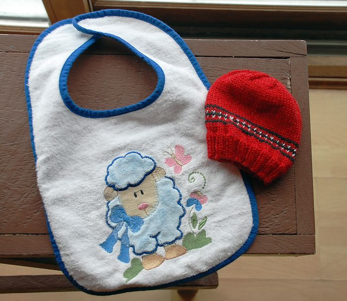 Bib and hat