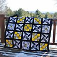 X Marks the Dot Mystery Quilt