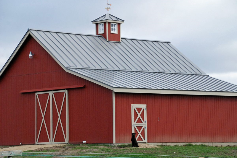 Finished barn
