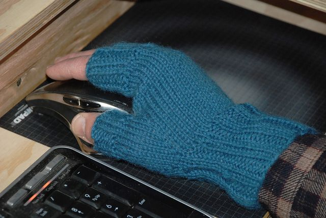 Jim's Fingerless Mitts